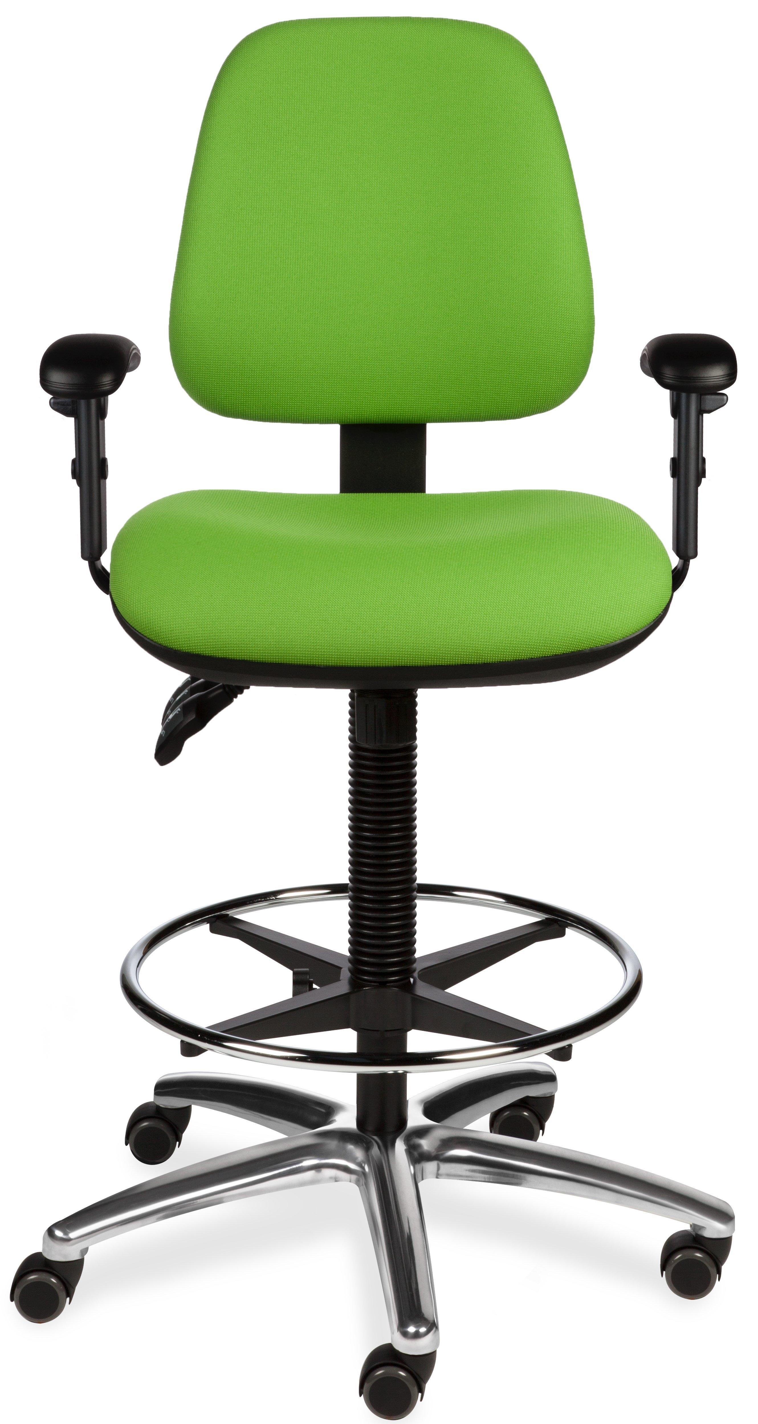 Tex 6126/A stof groen