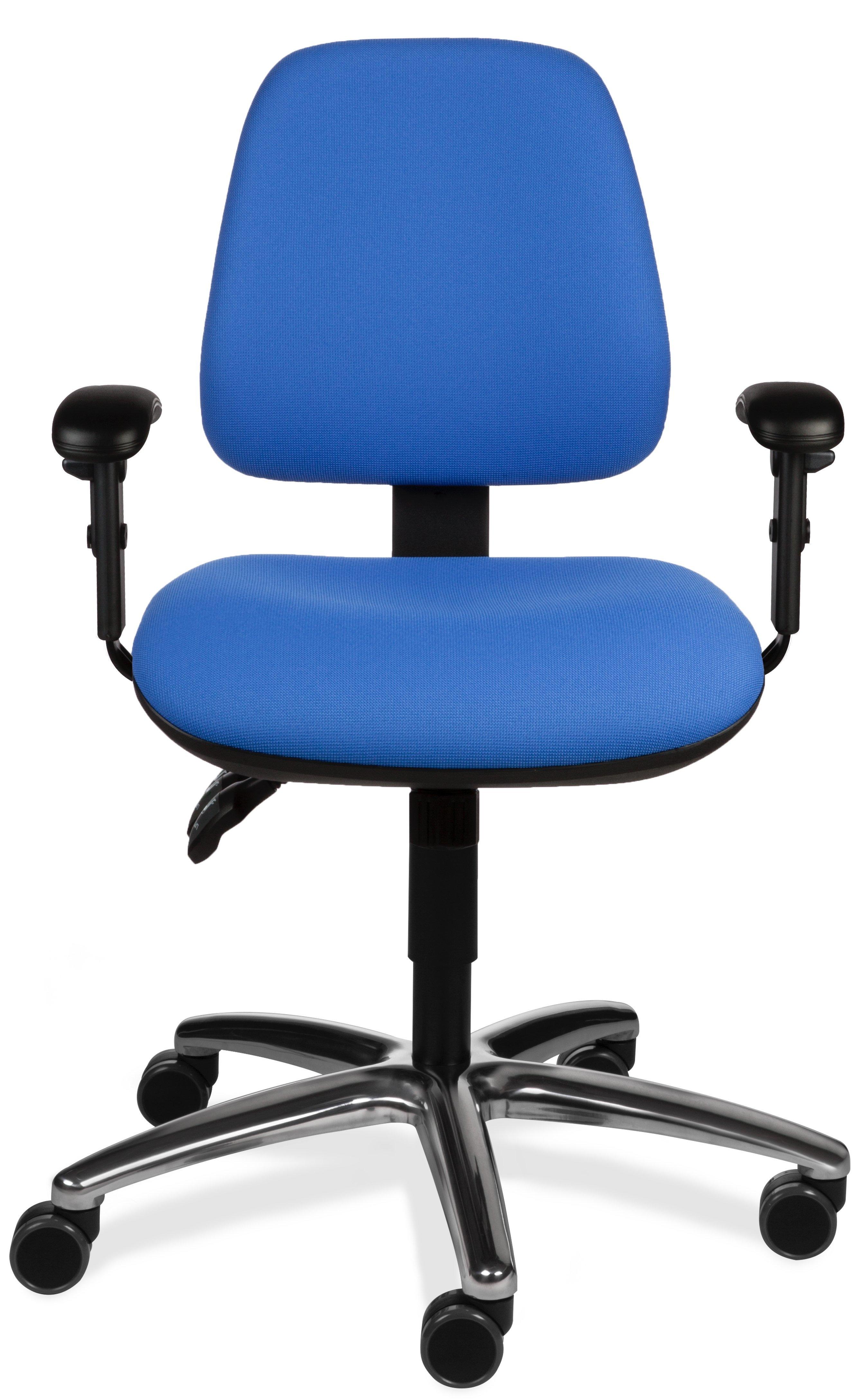 Tex 6510 stof blauw